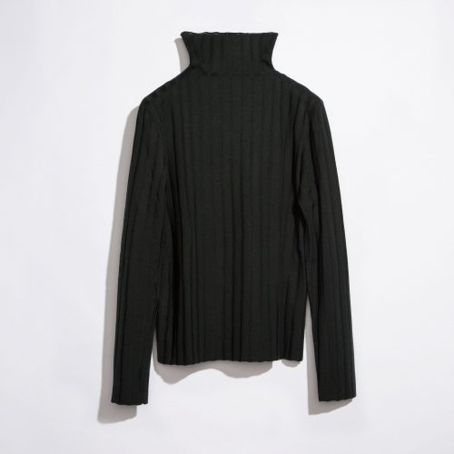 JACQUARD KNIT TURTLENECK